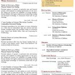 Resume Templates Latex Resume Templates Latex Latex Templates Curricula Vitaersums