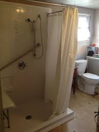 accessible shower doors handicap accessible shower parkesburg access and mobility