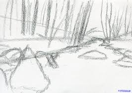 how to draw a stream step by step watermasses landmarks