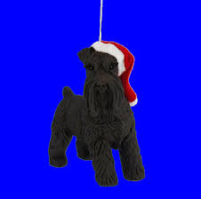 black schnauzer ornament by sandicast