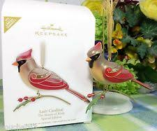 hallmark of birds ornament ebay