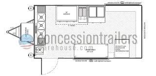 c trailer floor plans concession trailer plans building a concession trailer