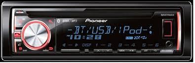 pioneer cd player deh x6600bt dehx6600bt