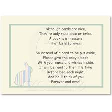 bring a book instead of a card poem 24 best book instead of card images on baby shower