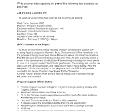 bunch ideas of writing cover letter for internal position on