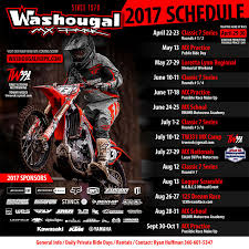 lucas oil pro motocross schedule schedule and other events washougal motocross park