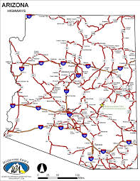 road map arizona usa road map of arizona 26 best maps images on maps button