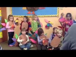 evan s preschool thanksgiving program part 2