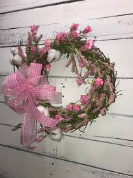 small farmhouse style spring wreath small spring wreath spring