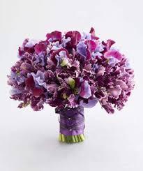 Violet Wedding Flowers - purple wedding flowers real simple