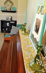 Simple Diy Home Decor by Home Decor With A Simple Diy Piano Top Runner Craft O Maniac