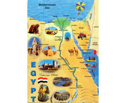 Oasis Map Maps Of Egypt Detailed Map Of Egypt In English Tourist Map