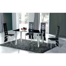 Oval Glass Dining Table Oval Glass Dining Table 8 Seater Tables With Chairs Black Lacquer