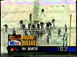 1993 dolphins cowboys lett opps