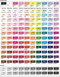 prismacolor pencils 150 prismacolor pencils 150 chart complete triart marker color chart