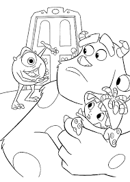 monsters coloring pages getcoloringpages