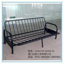 Folding Tubular Sofa Bed Double Metal Futon Sofabed Frame Sofa - Sofa bed frames