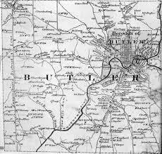 County Maps Butler County Pennsylvania Maps 1874