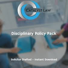 download a disciplinary policy template