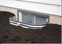 Basement Window Well Drainage by Lot Drainage Residential Lot Grading Drainage Flooding Water