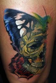 12 watercolor skull designs pretty designs