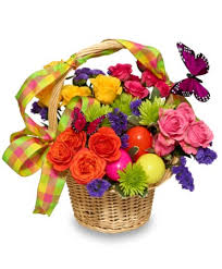 basket of flowers egg cellent easter blooms basket of flowers in indianapolis in