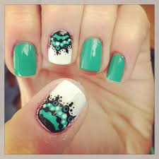 funky nails nails turquoise nailed it pinterest nails
