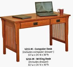 Contemporary Computer Desks Mission Style Desk Contemporary Computer Desks Inside 14