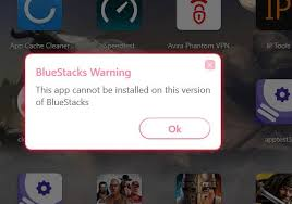 bluestacks latest version help this app cannot be installed on this version of bluestacks