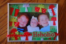 homemade christmas picture frames choice image craft decoration
