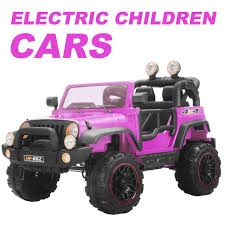 electric jeep for kids 12v kids ride on cars electric battery power remote control 2 speed