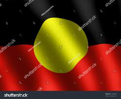 Indigenous Flags Of Australia Vector Aboriginal Waved Flag Wallpaper Stock Illustration 14499097