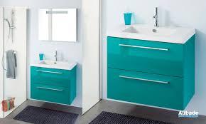 Meuble Salle De Bain Bleu meubles salle de bains couleur iceland sanijura line espace aubade