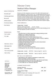 resume template administrative manager job specifications ri exles of office manager resumes