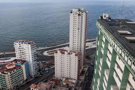 modernist architecture climbing all over the massive modernist architecture of cuba the