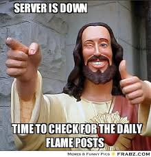 Funny Server Memes - servers down the story in pictures