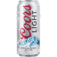 coors light 18 pack light 16oz 18 pack cans