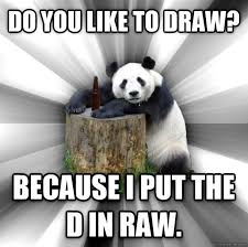 Pick Up Line Panda Meme - pickup line panda meme guy