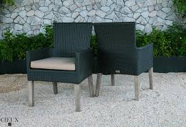Outdoor Teak Table Outdoor Teak Table With Four Dark Chocolate Chairs Cieux