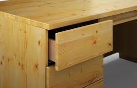 Schreibtisch In Schwarz Statua Aus Kiefer U2013 Schreibtisch