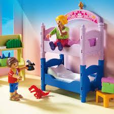 playmobil chambre b 5306 chambre d enfants avec lits superposés playmobil dollhouse