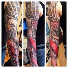 bionic mecha mechanical art robotic muscle cyborg arm