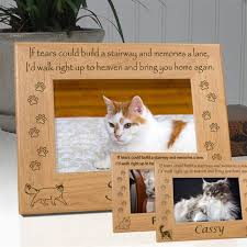 personalized cat breed memorial frame