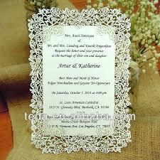 wording invitation card wedding invitation model doc buy