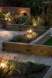 flower bed lights immense gardens raised beds and gardens on