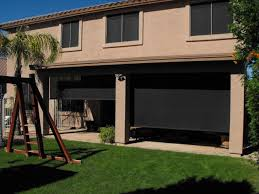 enjoy the magnificent view with solar patio sun shades inspiring