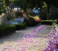 the walled garden at cowdray wedding venue midhurst