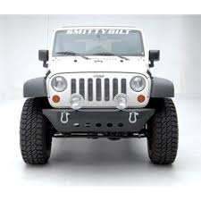 jeep classic smittybilt 76741 wrangler jk front bumper src classic without