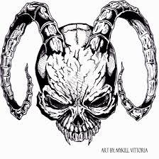 skull design by lordmykill on deviantart