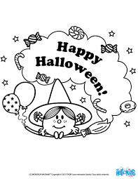 Halloween Colouring Printables Little Miss Happy Halloween Coloring Pages Hellokids Com